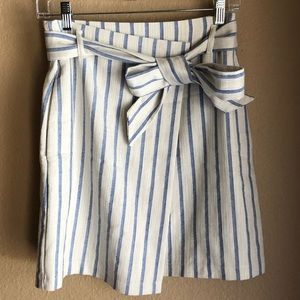 H&M belted wrap skirt